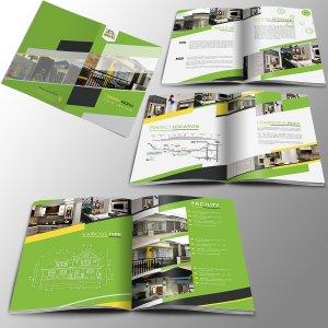desain company profile perusahaan properti