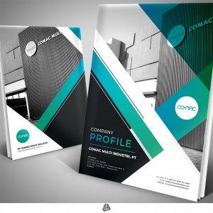 Desain company profile perusahaan Cathodic