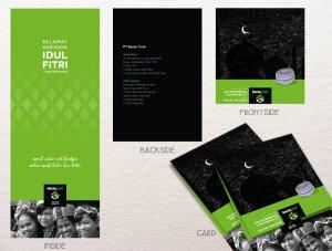 desain kartu ucapan Idul Fitri 1435 H