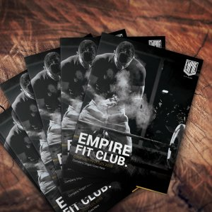 desain company profile Empire Fit Club
