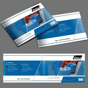 desain company profile perusahaan manufacturing