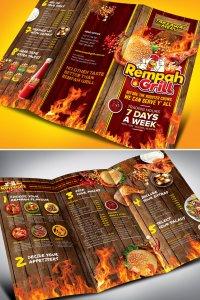 contoh Brosur menu