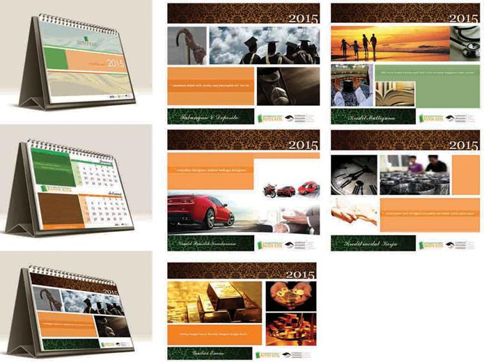 Bentuk Kalender