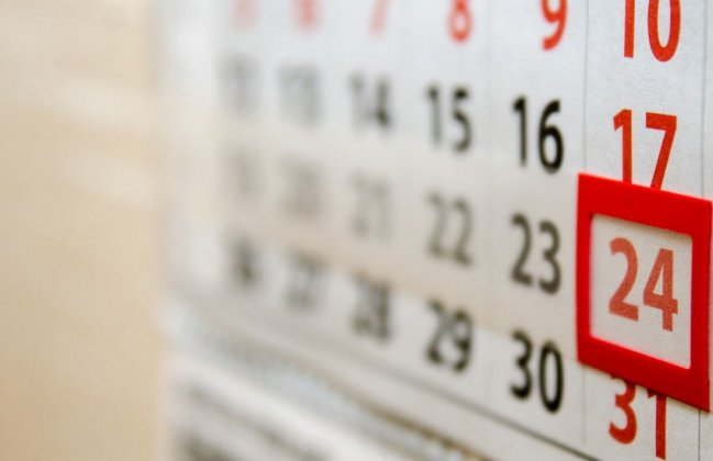 kalender perusahaan