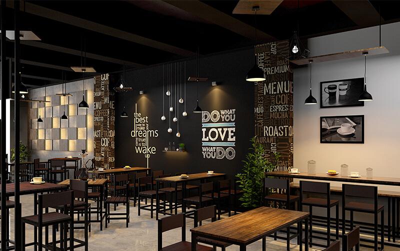 Desain interior cafe yang fungsional sekaligus estetis