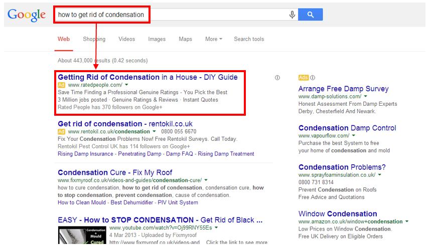 search network untuk google ads