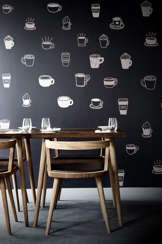 Wallpaper unik untuk melengkapi desain interior cafe