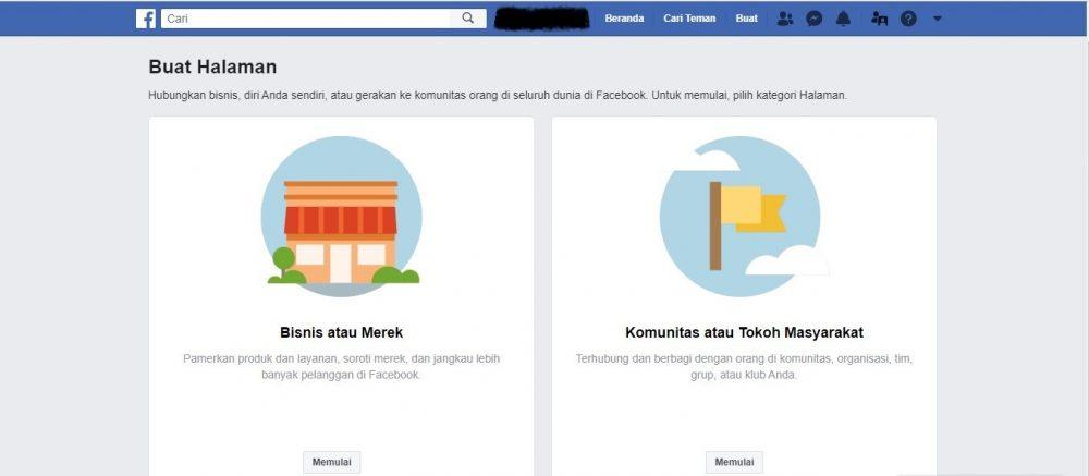 Salah Satu Prasyarat Menggunakan Fitur Facebook Ads Adalah Memiliki Sebuah Halaman
