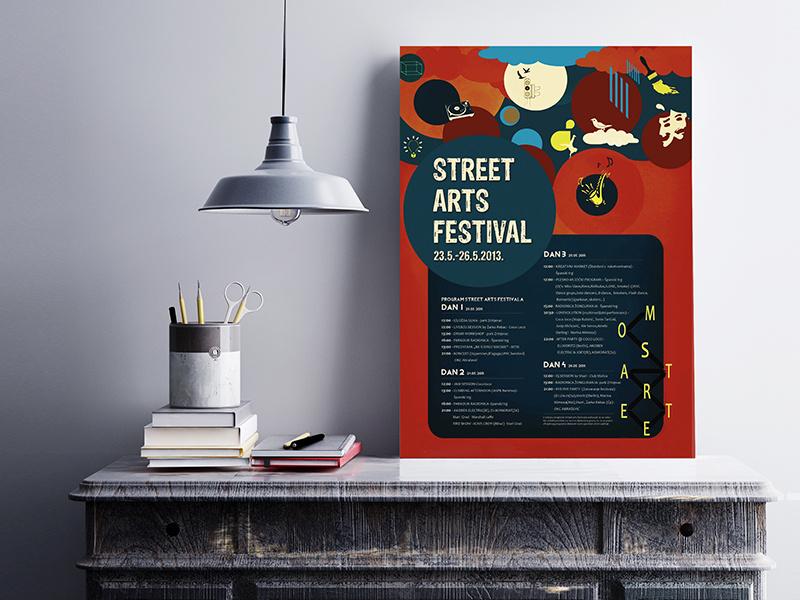 Poster Street Art Festival karya Ljerka Selimovic
