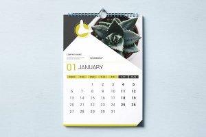 desain kalender elegan