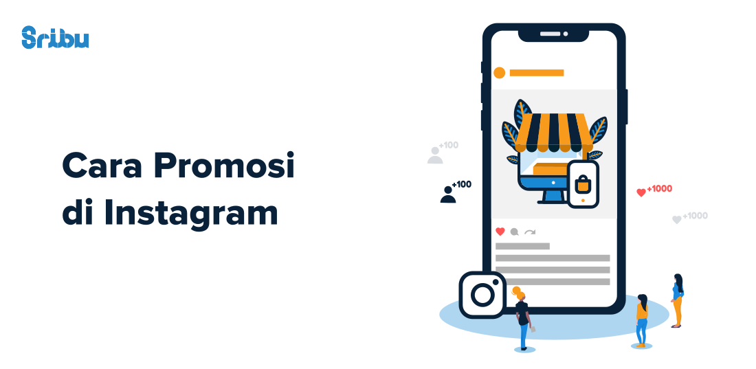 cara promosi di instagram