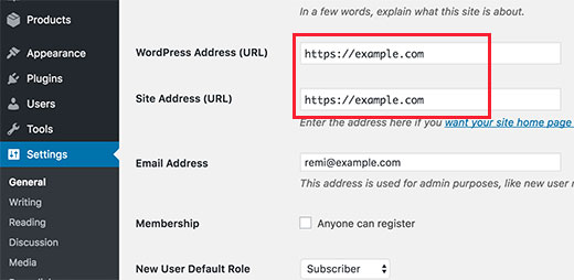 mengubah https pada cara membuat website toko online di wordpress