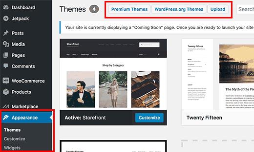 ganti tema woocommerce cara membuat website toko online di wordpress