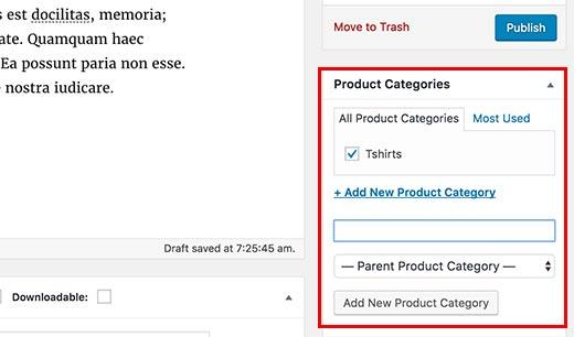 tambah kategori produk woocommerce cara membuat website toko online di wordpress