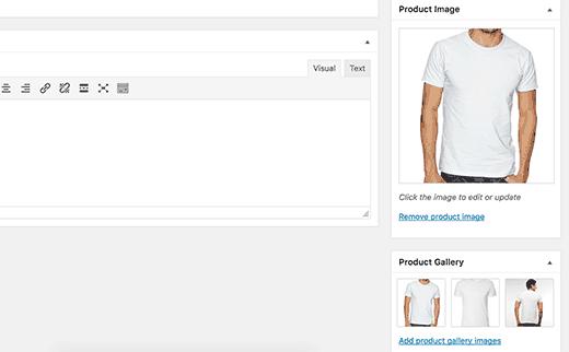 tambah foto produk woocommerce cara membuat website toko online di wordpress