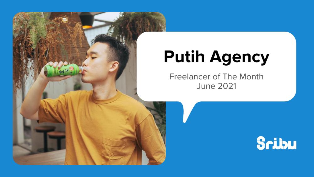 putih agency freelancer of the month sribu